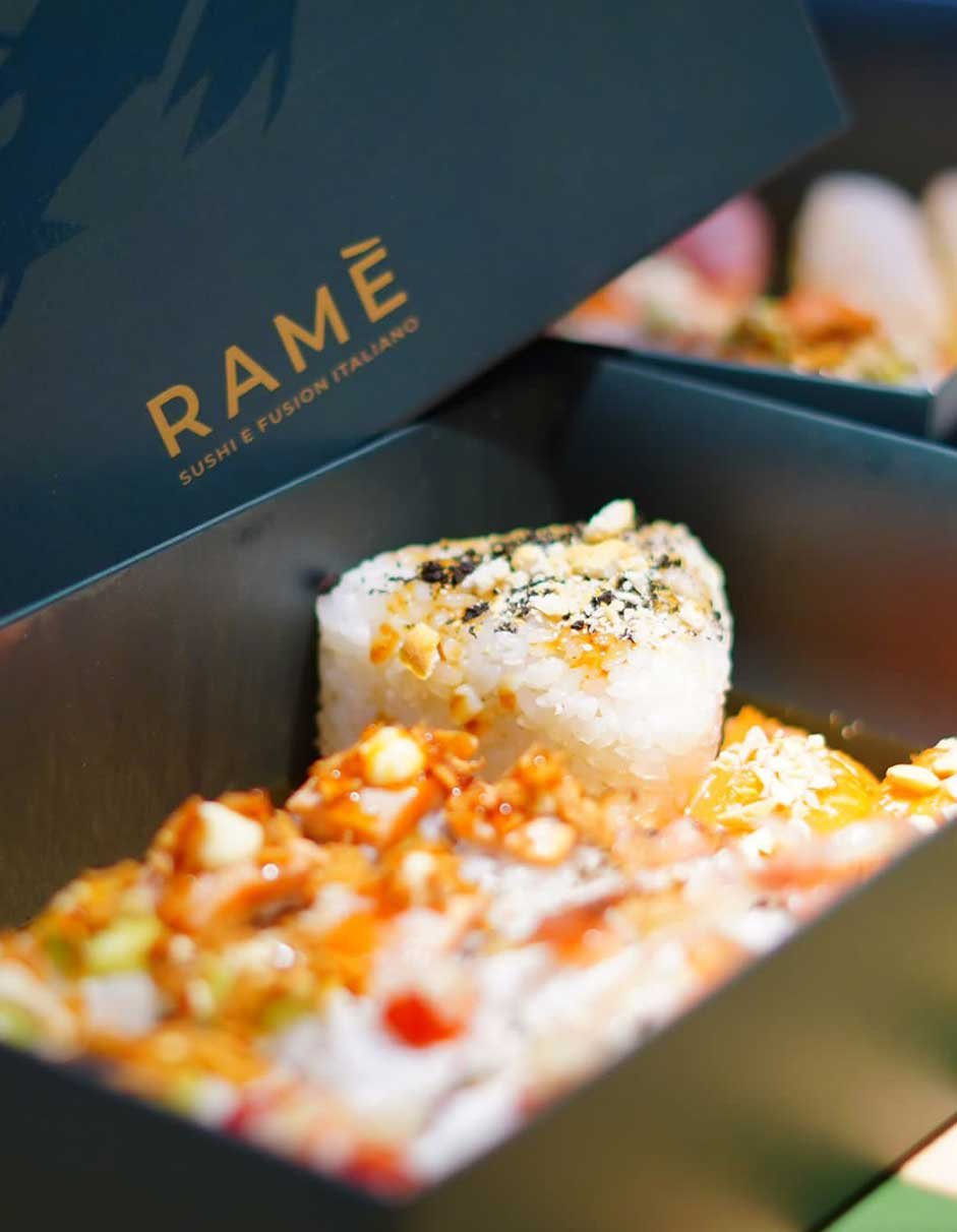 catering sushi roma